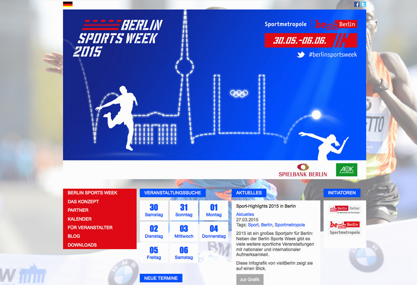 Navarts Webdesign - Berlin Sportsweek