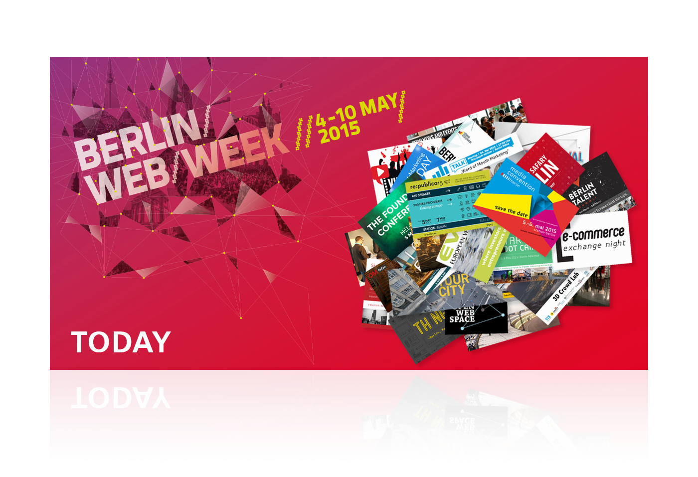 Navarts Grafikdesign - Berlin Webweek Facebook Ads